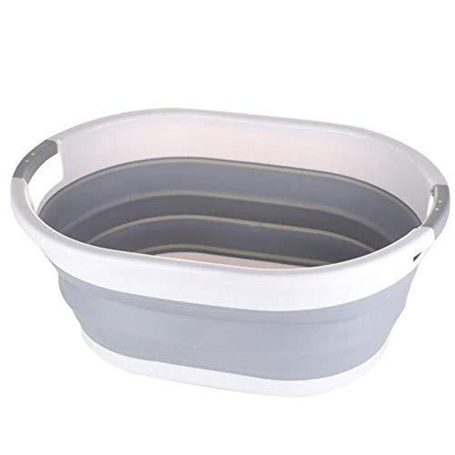 ZSHYP Draagbare wastafel, opklapbare wastafel wastafel inklapbaar bad inklapbare schotel bad voor huis/reizen/outdoor camping