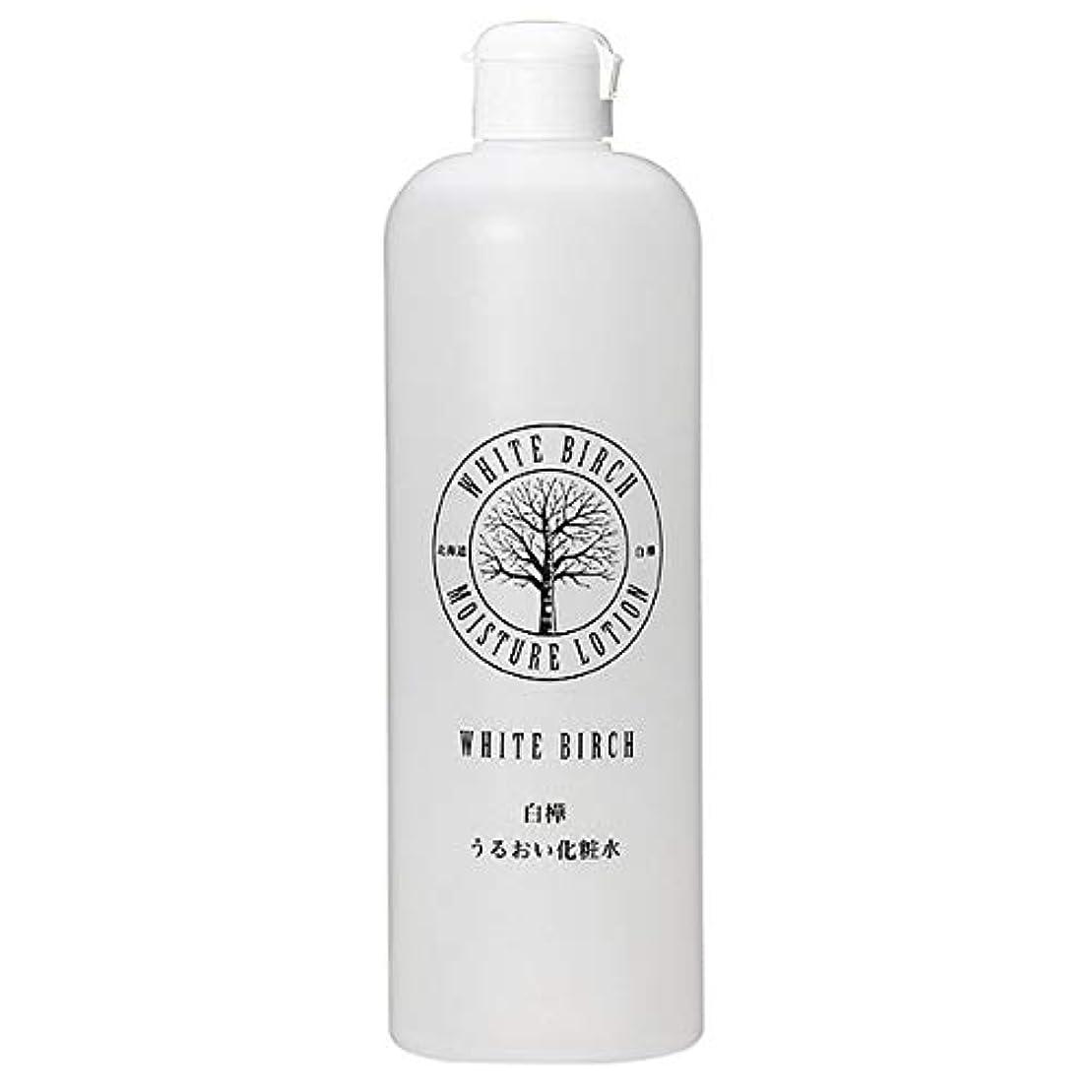 貞ほのめかす評価する北海道アンソロポロジー 白樺うるおい化粧水 500mL