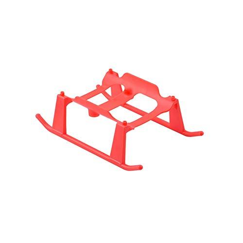 Huanruobaihuo Gambe Drone Ruote treppiede estesa Landing Gear Pattini di Parte di X-iaomi FIMI A3 .Accessori per Drone (Color : Red)