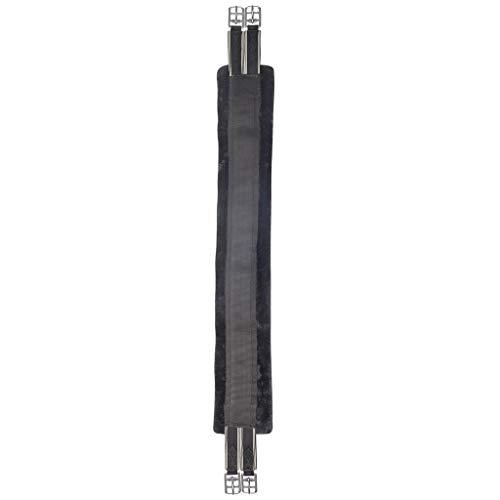 WALDHAUSEN Sattelgurt Teddyfell, schwarz, 135cm, schwarz, 135 cm