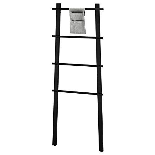 IKEA ASIA VILTO Handtuchständer schwarz