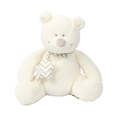 GIRISR Teddy Bär Teddybär 20Cm Samtig Weich Plüsch Kuscheltier Plüschbär Weiß