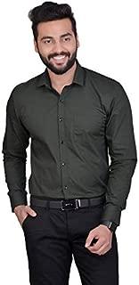 FifthAnfold Men Solid Full Sleev Formal Shirt