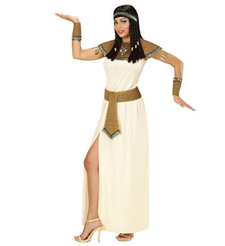 WIDMANN WDM67702 - Costume Per Adulti Cleopatra, Bianco, M