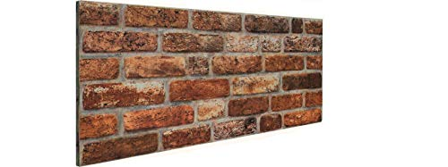 3D Brick Effect Wall Panel, Cladding Polystyrene, DL-141, 50x100cm