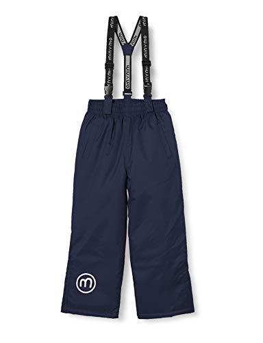 MINYMO Unisex-Child Oxford solid Snow Pants, Navy Blazer, 110