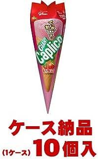江崎グリコ ジャイアントカプリコ いちご 1本×10個入 (1ケース)