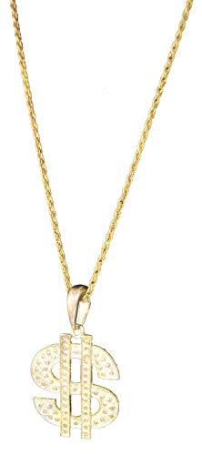 P 'tit payaso 10024collar Dólar metal–altura 8cm–oro , color/modelo surtido