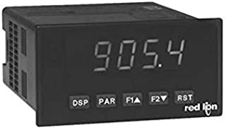 Red Lion Controls PAXT0110 - Temperature & RTD Meter w/Green LED Display & DCV Power