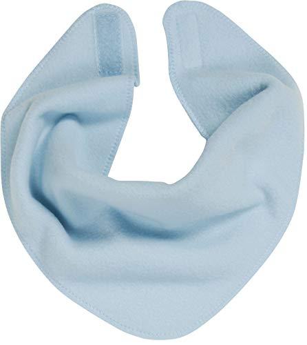 Playshoes Baby-Unisex Fleece-Dreieckstuch legeres Hals-Tuch, bleu, one size