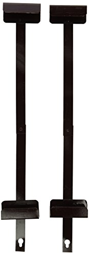 Oriental Furniture Silk Screen Brackets - Rosewood - 18'