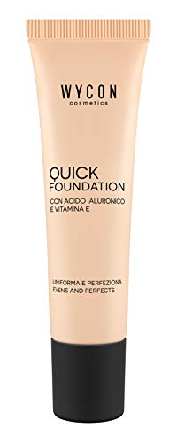 WYCON cosmetics QUICK FOUNDATION fondotinta fluido (NW25)
