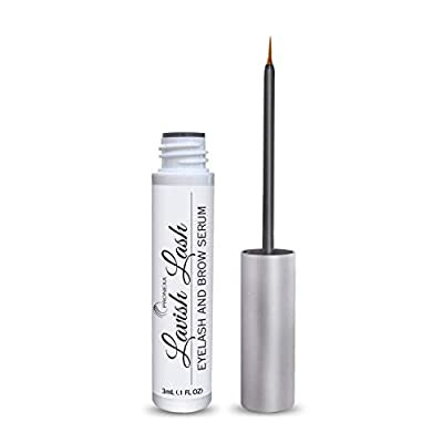 Pronexa Hairgenics Lavish Lash ? Eyelash Growth Enhancer & Brow Serum with Biotin & Natural Growth Peptides for Long, Thick Lashes and Eyebrows! Dermatologist Certified, Cruelty Free & Hypoallergenic.