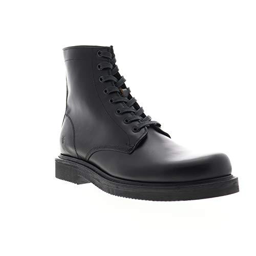 Frye Mens Johnny Combat Black Casual Dress Boots Boots 11.5