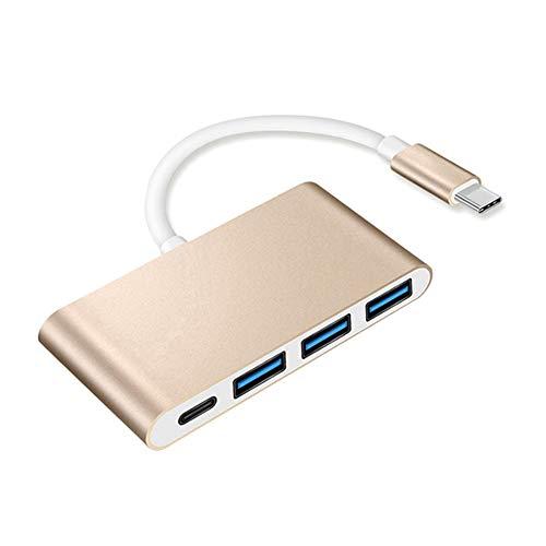 lo Type C USB 3.0 Hub Opladen 1Adapter Draagbaar voor Mobiele Telefoon Laptop Home Office