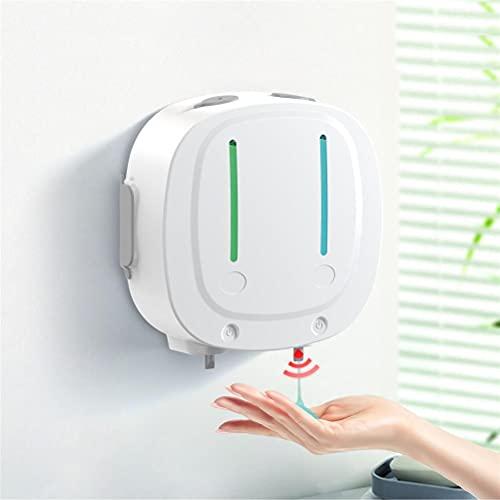 WINBST Dispensador de jabón automático, 550 ml, de doble cabezal, para baño, cocina