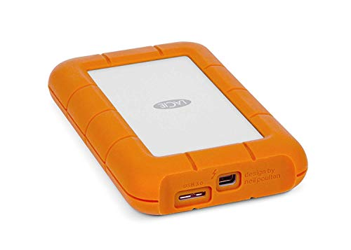 LaCie Rugged Thunderbolt and USB 3.0 1TB 9000488 / STEV1000400 with...