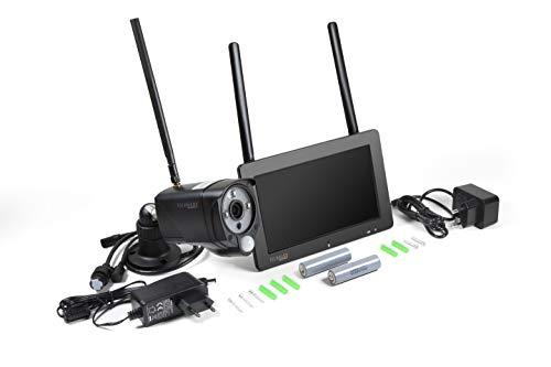 "Technaxx Überwachungskamera-Set TX-128 mit 7\"" Touchscreen FullHD IP Kamera"