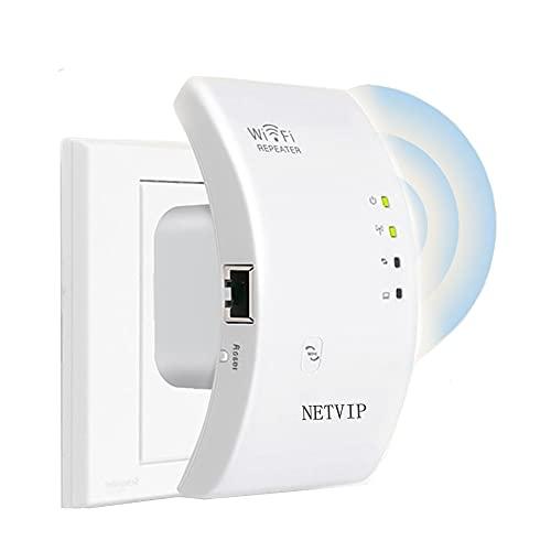 WLAN Repeater WLAN Verstärker für zu Hause, 300Mbit/s/2.4GHz WiFi Range...