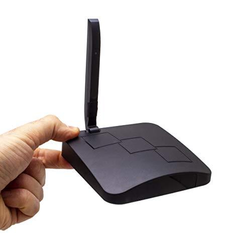 Active Media Concept Routeur W-FI caméra Espion WiFi discrète avec Vision Nocturne et Enregistrement HD Autonome, microSD 128 Go Incluse