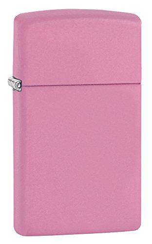 Zippo Pink Matte Slim - Mechero