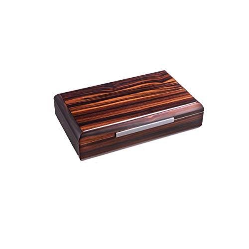 YINGGEXU Humidor de cigarros Caja de cigarros, natural de madera del cedro Piano pintura constante de temperatura y humedad caja de cigarros, multi-zona de almacenamiento humidor buen humor, buena vid