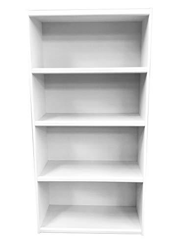 Moots Librero Organizador Padua Varios tamaños y Colores (Blanco, 120 x 60 x 30)