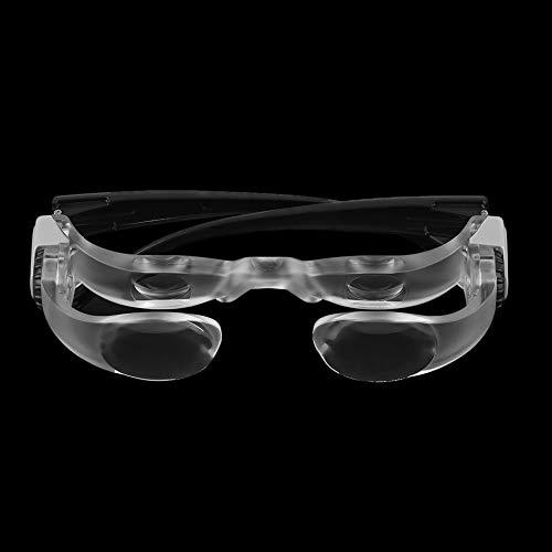 GYW-YW Lupa # 1624 lupas binoculares 2.1x MAX TV Vidrios