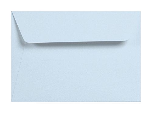 5 Umschläge 120g Himmel Blau C6 Briefumschlag