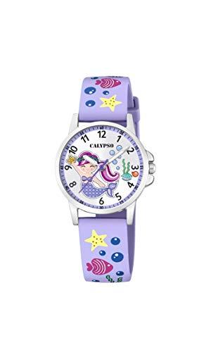 Calypso Reloj Analógico para Niñas de Cuarzo con Correa en plástico K5782/2