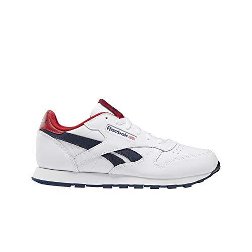 Reebok Classic Classic Leather J Sneaker Kind Weiss/Rot - 38 - Sneaker Low