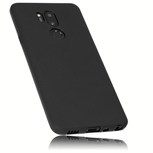 mumbi Hülle kompatibel mit LG G7 ThinQ Handy Hülle Handyhülle, schwarz