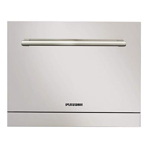 Furrion 18 Inch RV Countertop Dishwasher with Single Rack (Stainless Steel) - FDW18AC-SS