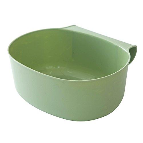 TOPBATHY auffangschale für küchenabfälle Kunststoff (Green)