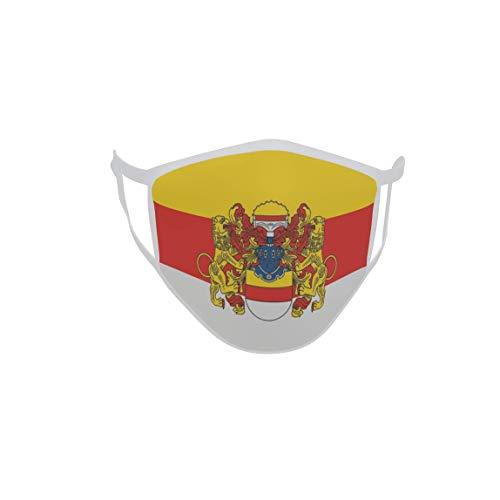 U24 Behelfsmaske Mund-Nasen-Schutz Stoffmaske Maske Münster mit großem Wappen VA
