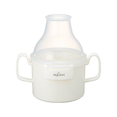 水素生成器 お風呂用 高濃度水素バス AQUA-H ホワイト AH-HF1601 WH