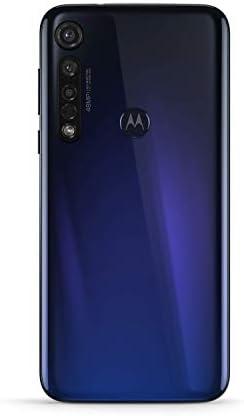 Motorola Moto G8 plus (6,3 Inc FHD U-Notch display, Dolby Stereo speakers, 64 GB/4 GB, Android 9.0, Dual SIM Smartphone), Cosmic blue