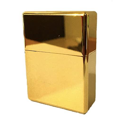 ライター界のロールスロイス 永久無料修理保証 オイルライター 超重厚 ウルトラ ソリッド アーマー 真鍮 ゴールド