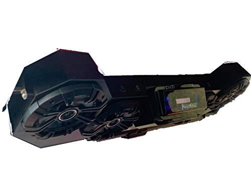 RZR PRO XP Sound Bar Tower Speakers Stereo Bluetooth Radio Razor - PROXP