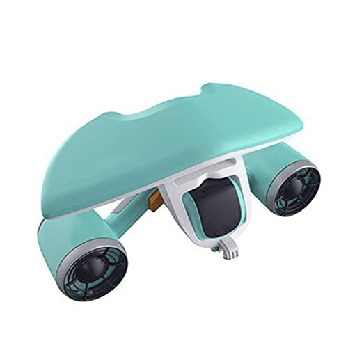 WMB Scooter subacqueo RC Drone 60 Minuti di utilizzo Tempo di utilizzo, Booster Self-Nuoto Compatibile con Smartphone Action Camera,A