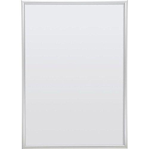 Nielsen Wechselrahmen Undercover Classic,silber-matt,Aluminium,DIN A1,594x841mm