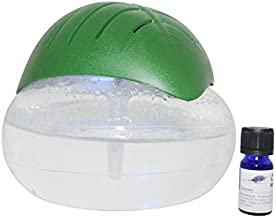 EcoGecko Green Leaf Air Cleaner & Revitalizer Essential Oil Diffuser with 10ml Lavender Oil