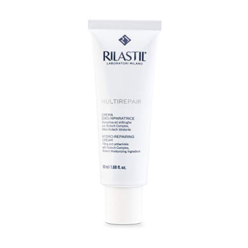 Rilastil Multirepair - Crema Facial Hidro-Reparadora para Pieles Secas - 50 ml