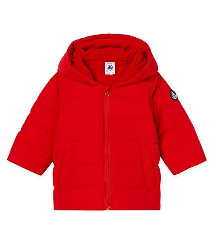 Petit Bateau Doudoune_5061202 Chaqueta, Rojo (Terkuit 02), 68 (Talla del Fabricante: 6M/67centimeters) para Bebés