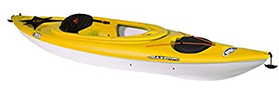 KZA10P109-00 Maxim 100X Sit-in Recreational Kayak | Pelican Kayak 10-Foot Lightweight one Person Kayak Perfect for Recreation by Pelican Boats