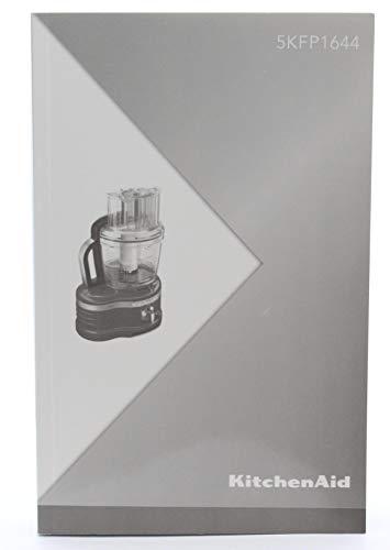 Vervangende foodprocessor Gebruiksaanwijzing Meerdere talen (W10529664A) voor KitchenAid 16-cup keukenmachine (modellen vanaf 5KFP1644 en KFP16)