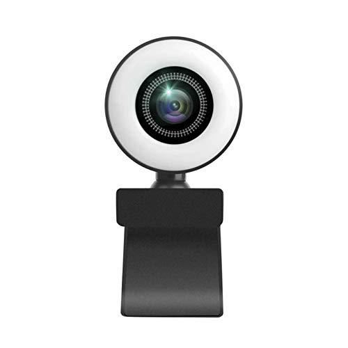Webcam 1080P 30fp HD, mini Webcam LED, cámara de red avanzada, ajustable para Mini webcam LED, muy adecuada para la transmisión en redes sociales y juegos
