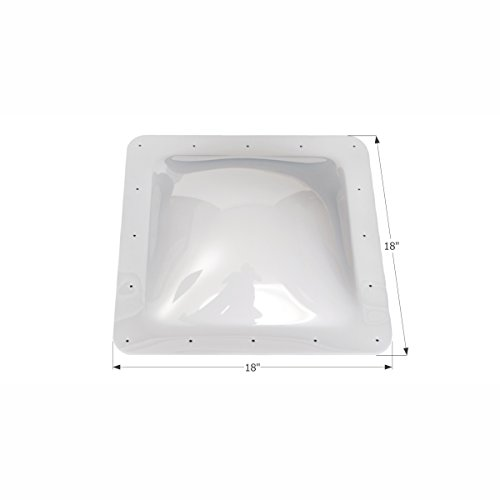 ICON 01817 Single Pane Exterior Skylight SL1414W-White, 14