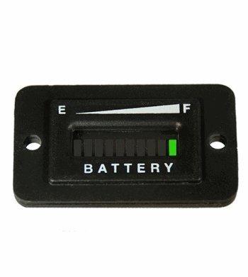 Automotive Authority LLC 48 Volt EZGO Club Car Yamaha Golf Cart Battery Indicator Meter Gauge Rectangle