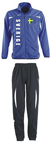 Zweden trainingspak - sportpak - S-XXL - voetbal fitness